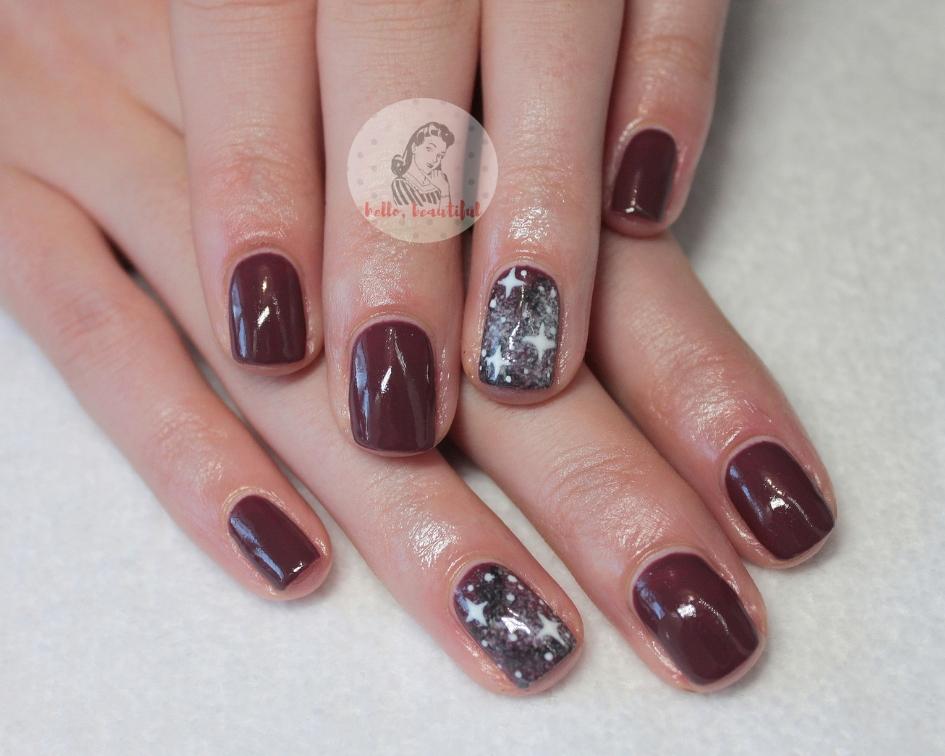 stary sky nails