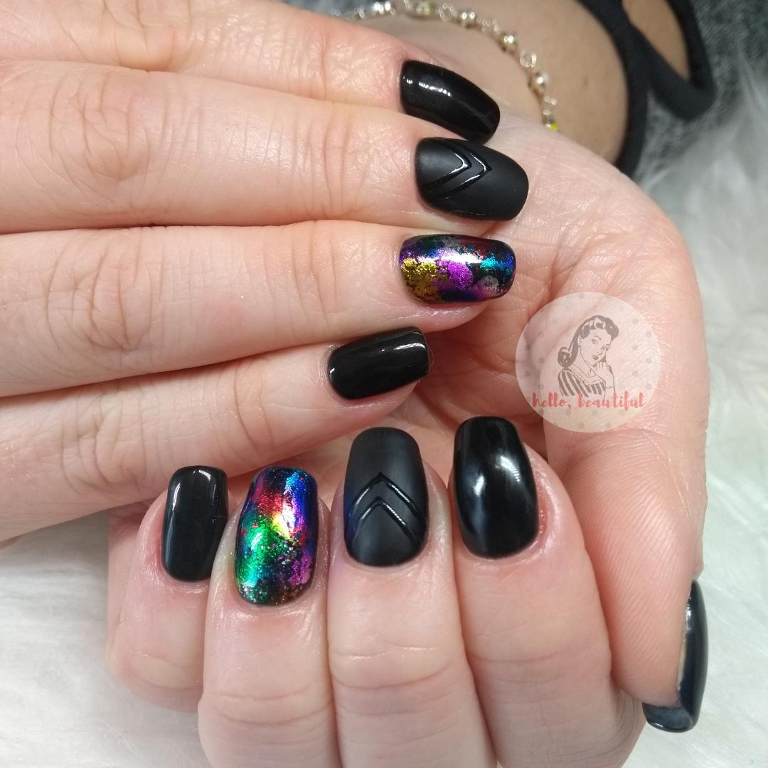 black foils