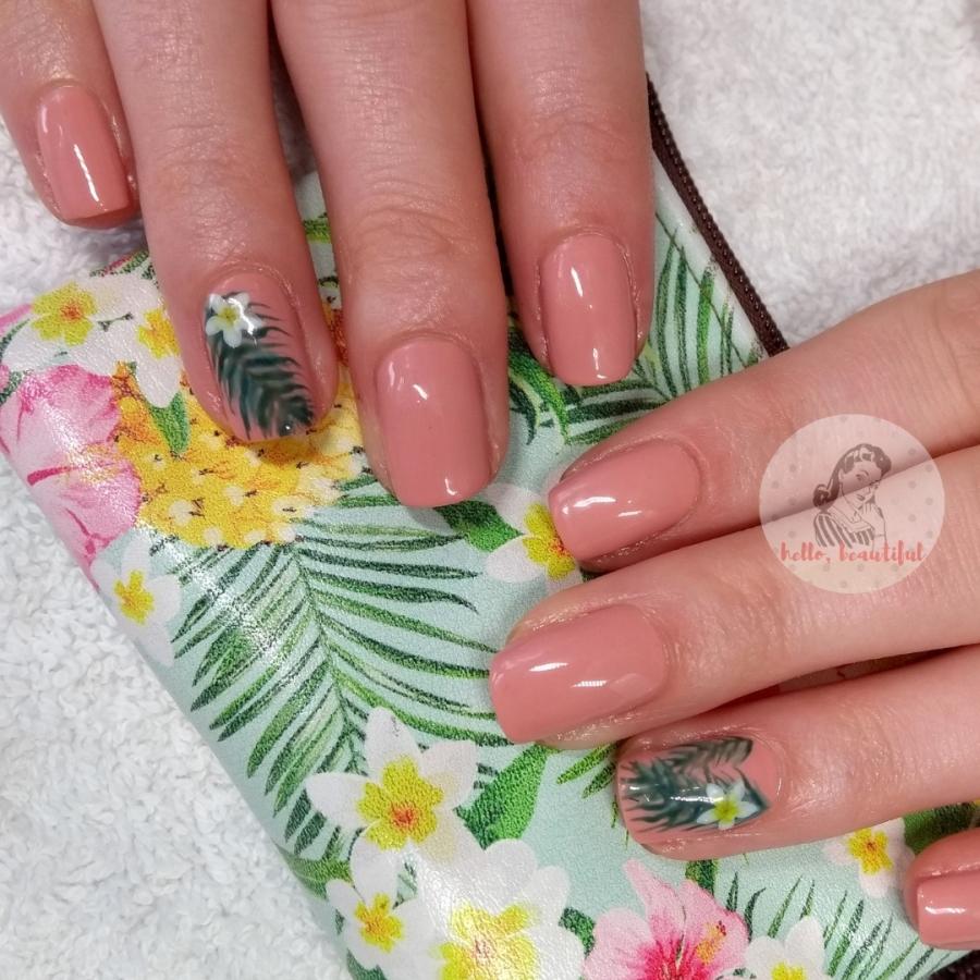 tropical nails design